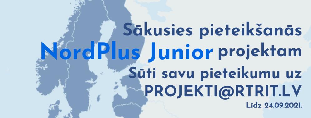 Sākusies pieteikšanās NordPlus Junior projektā